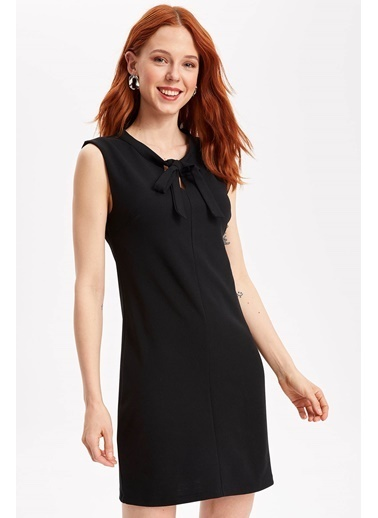 DeFacto Kolsuz Elbise Siyah